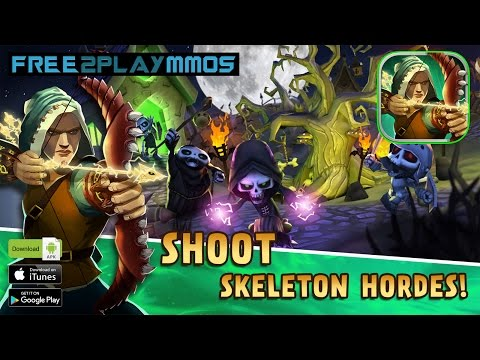 Skull Towers - Castle Defense First Look Gameplay Android / iOS