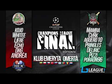 HaxBall Champions League FINAL Edition #14: Klub Emeryta vs. OMERTÀ !