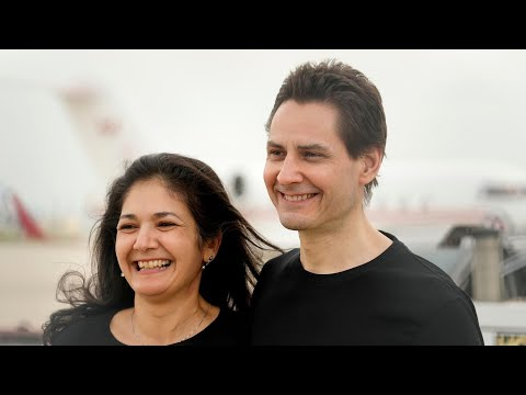Michael Kovrig reunites with family in Toronto