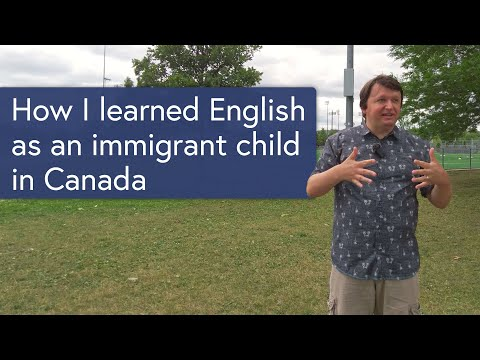 My experience learning English as an immigrant child