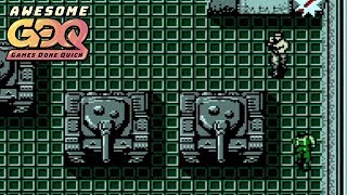 Metal Gear  Nes  By Eriphram In 26:11 - Agdq2019