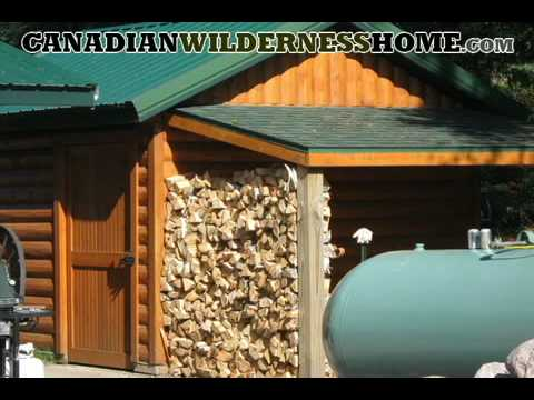 Canadian Wilderness Home For Sale