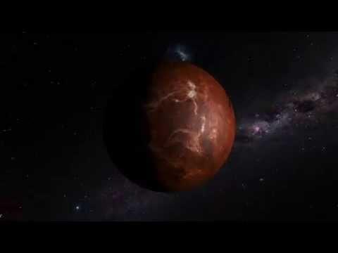 Rotating venus planet motion background youtube rotating venus planet motion background voltagebd Choice Image