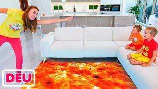 Der Boden ist Lava mit Vlad und Niki