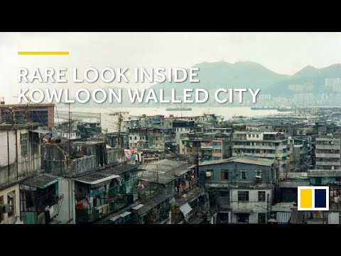 A rare look inside the Kowloon Walled City from 1990
