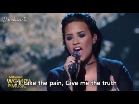 Demi Lovato - Stone Cold- OFFICIAL KARAOKE INSTRUMENTAL