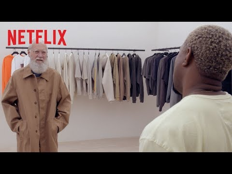 Carmen -  Kanye West Styles David Letterman in His Yeezy Brand From Head To Toe
