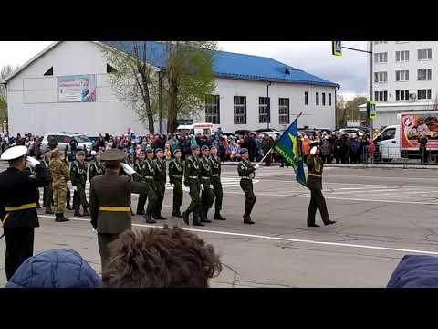 Усолье-Сибирское, Парад 9 мая,