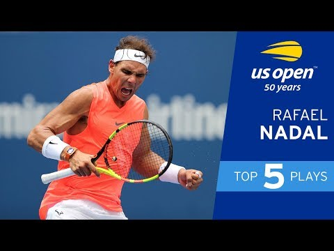 Top 5 Plays of Week 1: Rafael Nadal