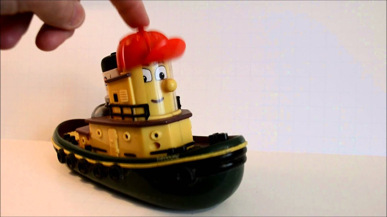 Face Changing (3 face) Theodore Tugboat 1998 ERTL - YouTube