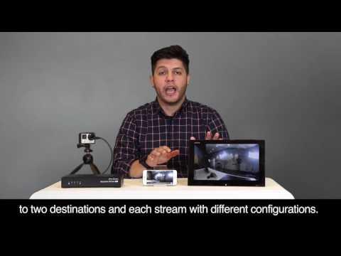 AVerCaster HD Duet Plus F239+ Dual Channel Compact Encoder