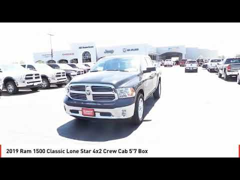 2019 Ram 1500 Classic Midland TX KS539208A