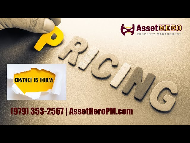 Asset Hero Property Management   Pricing Packages