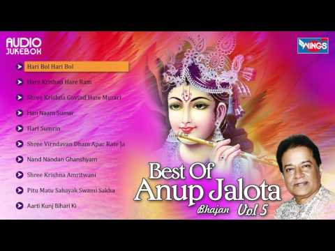 Top 10 Anup Jalota Krishna Bhajans | Best Of Anup Jalota Songs, Vol. 5 | Hindi Bhakti Songs