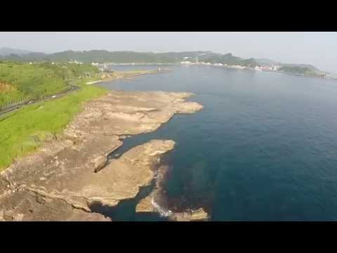 Cliff Fishing at Pacific Ocean in the Northeast Coast of Taiwan - Thunder Tiger TTRobotix Ghost+