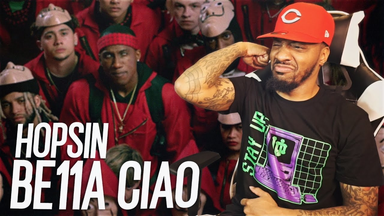 Download Hopsin - BE11A CIAO (REACTION!!!)
