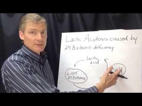 Nutritional Deficiency Lactic Acidosis