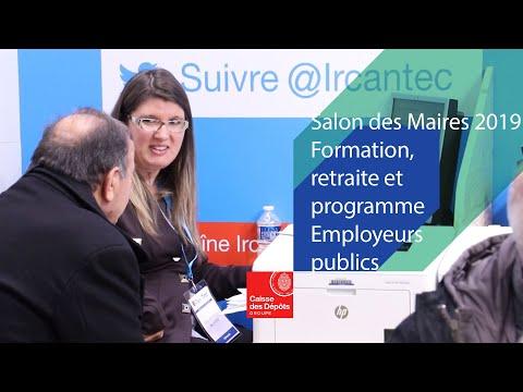 Salon des Maires 2019 : focus sur la formation, la retraite et le programme Employeurs publics