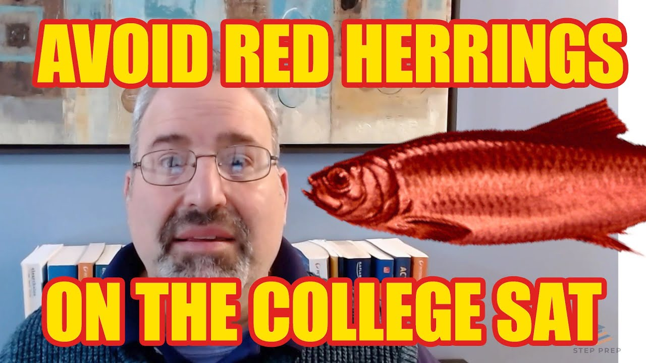 Avoiding Red Herrings