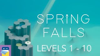 Spring Falls: Levels 1 - 10 Walkthrough Guide & iOS / Steam Gameplay (by Sparse Game Development)