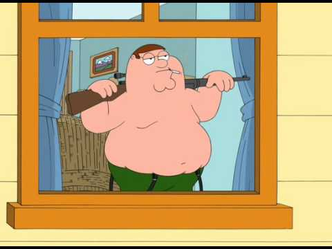 Peter Griffin sniper rifle