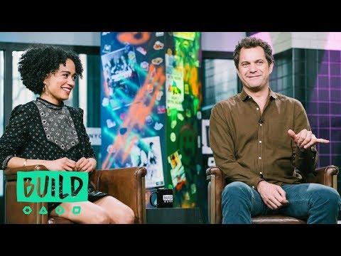 """Joshua Jackson & Lauren Ridloff (With Interpreter Candace Broecker-Penn) On """"Children Of A Lesser Go"""