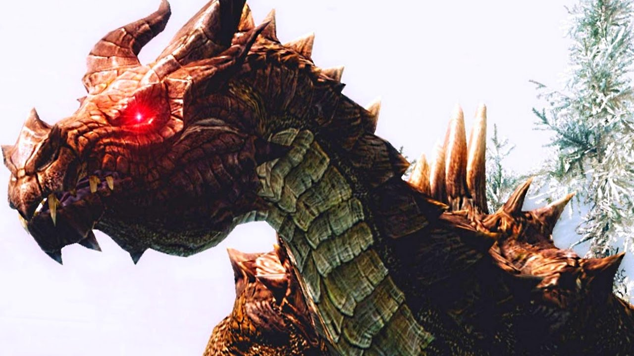 SKYRIM Special Edition: ELDER DRAGON Encounter! (LEGENDARY ...