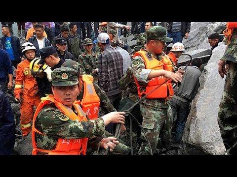 Sichuan landslide: President Xi calls for 'all-out' rescue efforts, 3 survivors escaped
