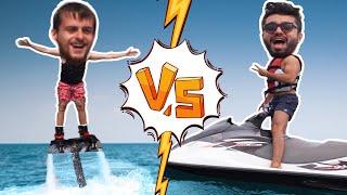 Jet Ski ve Flyboard'da Kapıştık! -50.000TL'lik Jet Ski Bozuldu :( w/BEROO