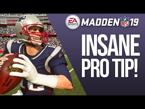 Madden 19 Pro Tip: Game Changing Offensive Tactic