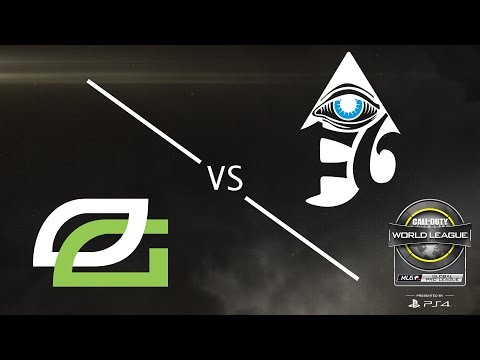 OpTic Gaming vs Enigma6 - CWL Global Pro League - Group Green - Day 1