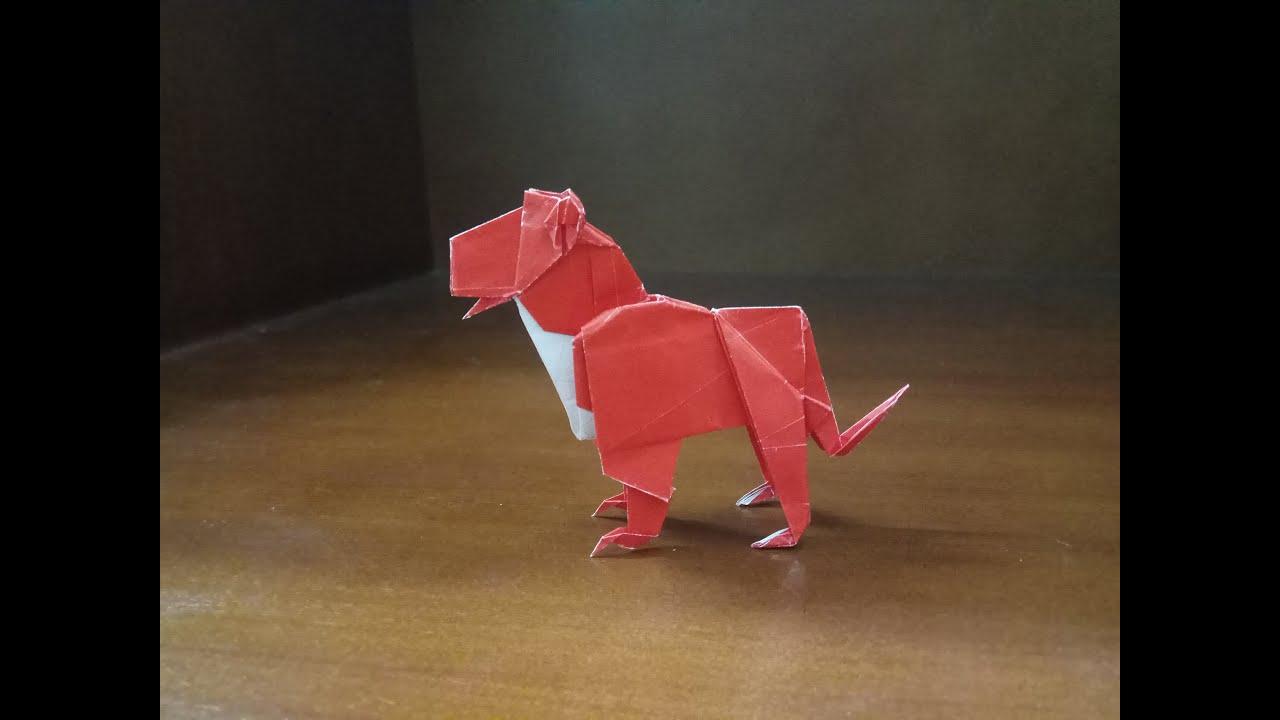 DIY 3D Origami Panther im Trophäenlook - Papershape | 720x1280