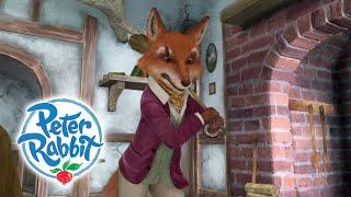 Peter Rabbit - Inside Mr. Tod's House   Cartoons for Kids