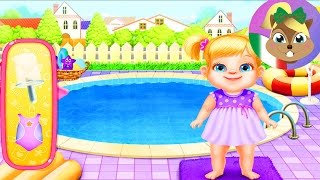 Babysitter App | Bambini in piscina, in sala pittura e bambole fai da te | Babysitter Madness