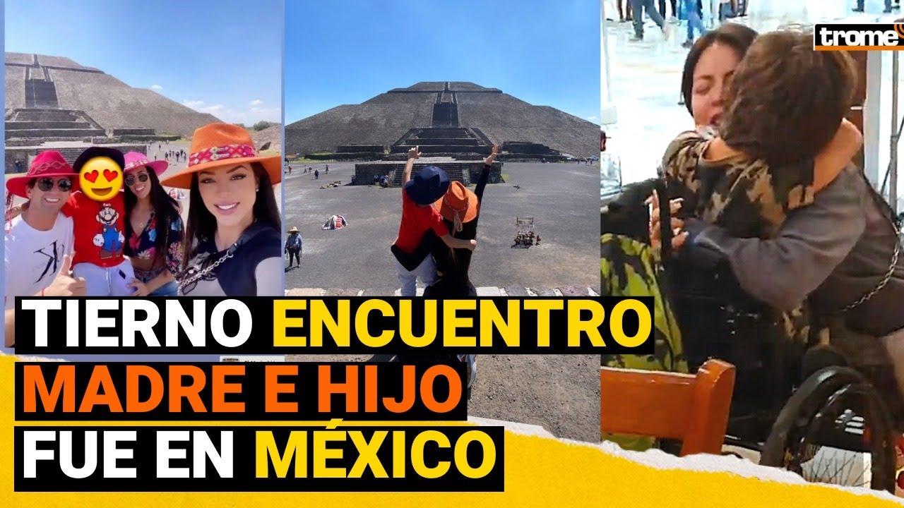 SHEYLA ROJAS: Así se VOLVIÓ A ENCONTRAR con su hijo 'Antoñito' en MÉXICO