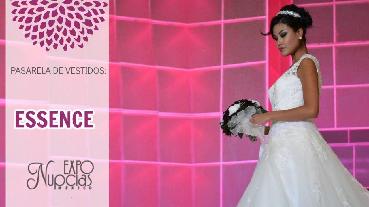 Expo Nupcias Pasarela de vestidos de novia por Essence Junio 2015 ...