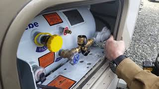 Avoid Breaking Camp To Refill Your RV Propane Tank With This Handy Propane Fitting Bypass Kit