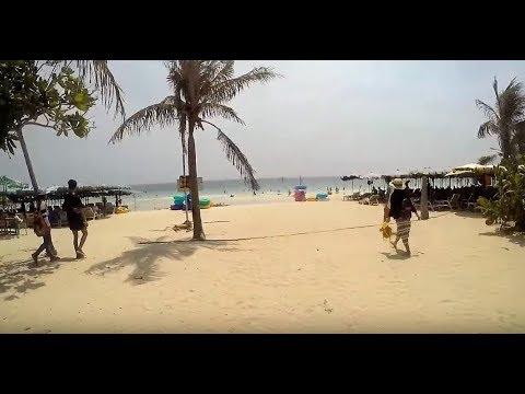 Thailand Pattaya, A Day trip to KOH LAN ISLAND !  Vlog-054