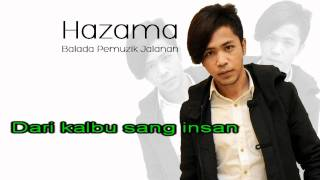 Hazama - Balada Pemuzik Jalanan [Karaoke Lirik Lagu]