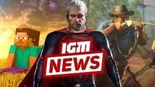 IGM News: Геймплей Red Dead Redemption 2 и Геральт-супермен