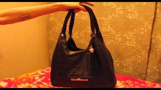 Ремонт женской сумки(У вашей сумочки облезли ручки? Не проблема! Достаточно обмотать ручки сумки новым материалом через клей..., 2014-11-29T18:49:27.000Z)