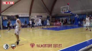 PLAYOFF SERIE B - SEMIFINALI - Gara 3 Virtus Valmontone - Basket Barcellona