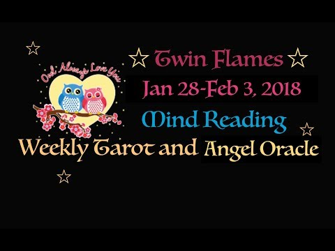Twin Flames Divine Masculine Mind Reading January 28-February 3, 2018