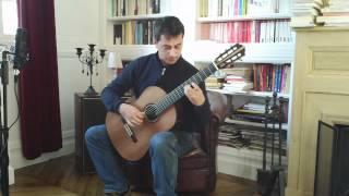 Martin Blackwell n°75 serenata espagnola www.guitare-classique-concert.fr