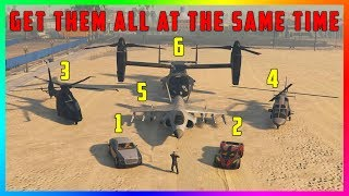 How To Have 6 Personal Vehicles Out AT THE SAME TIME In GTA 5 Online! (The Diamond Casino & Resort)