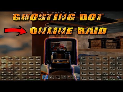 GHOSTING dot to ONLINE RAID | zZz vs dot | Rust Clan Vs Clan thumbnail