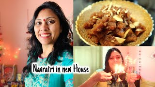New House me pehli Navratri ki starting kuch aise hui - Indian Family in canada