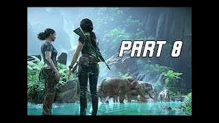 UNCHARTED THE LOST LEGACY Walkthrough Part 8 - CALM (PS4 Pro Let's Play Commentary)