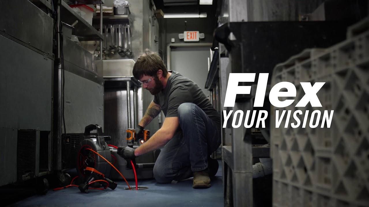 RIDGID® FlexShaft™ Drain Cleaning Machines – Wall-to-Wall Clean
