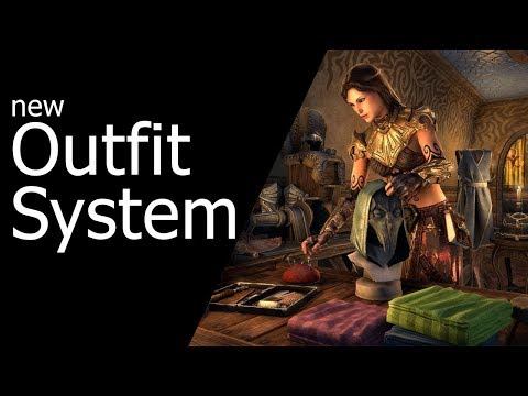 New Outfit System - Dragon Bones DLC The Elder Scrolls Online ESO
